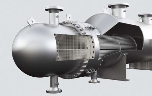 מחליפי חום TUBE & SHELL תוצרת KELVION - רדיון חברה להנדסה